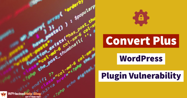 Convert Plus plugin (exploit)