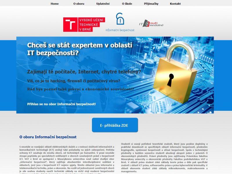 VUT Brno-IT bezpečnost